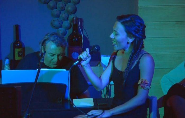 H Μελλά Μαρία τραγουδάει Summertime